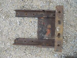 Allis Chalmers Ac Wc Tractor Drawbar Draw Bar Anchor Mount Hitch Bracket