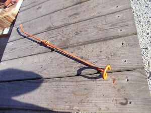 Allis Chalmers C Tractor Ac Engine Motor Starter Engagement Rod