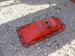 Allis Chalmers C Tractor Ac Engine Motor Good Oil Pan