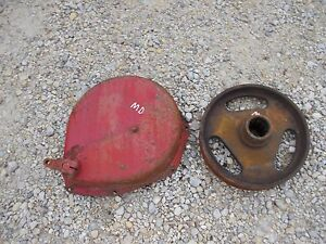 Farmall Md Rowcrop Tractor Ih Brake Band Drive Cover Holder