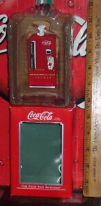 COCA COLA ENESCO THE PAUSE THAT REFRESHES LIMITED EDITION COLLECTIBLE ORNAMENT