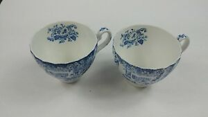 Johnson Brothers 2 Tea Cups Coaching Scenes Hunting Country Made In England