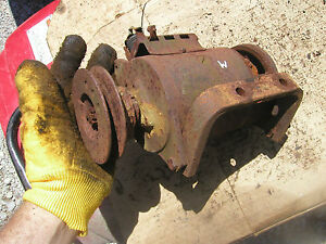 Farmall M Mv Early Sm Tractor Ih Generator Mounting Bracket Generator