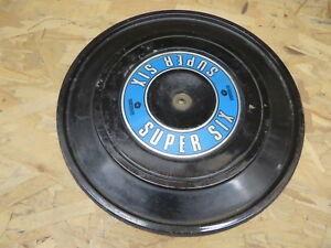 Chrysler Dodge Plymouth Air Filter Cover W Super Six Graphic Vintage Oem