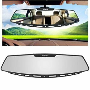 Yoolight Car Rear View Mirror 12 Wide Angle Universal Curve Convex Rearview