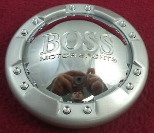Boss Motorsports Wheels Chrome Silver Custom Wheel Center Cap 1