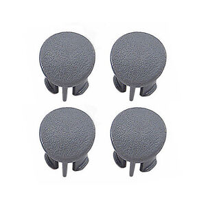 1987 1993 Mustang Door Armrest Pad Plugs Grey Gray Set Of Four lh Rh