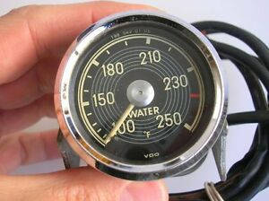 Mercedes 300 190 Sl Telethermometer Gauge Water F Vdo Gullwing Mb 1985420105