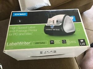 Open Box Dymo Labelwriter 450 Turbo Thermal Label Printer Ship Without Lable s