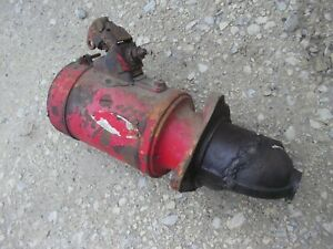 Cockshutt 30 Tractor Working Engine Motor 12v Starter Assembly