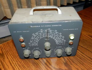 Heathkit Sg 8 Rf Signal Generator Needs Love As Is Parts Repair Power On Vintage