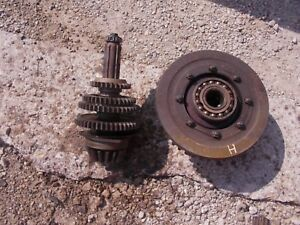 Farmall H Tractor Ih Transmission Drive Gears W sh Ring Pinion Drive Assembly