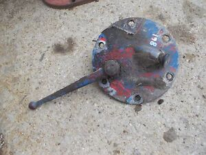 Ford 861 Tractor Original Transmission Oil Fill Dip Stick Cap Pto Engagement