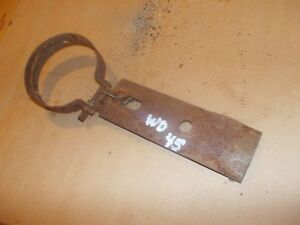 Allis Chalmers Wd Wd45 45 Tractor Muffler To Manifold Plate Clamp
