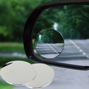 2pcs Pragmatic Car Rearview Parking Side Mirror Auxiliary Blind Spot Mirror