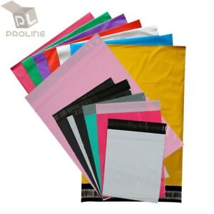 Any Size Poly Mailer Self Sealing Shipping Envelopes Mailing Bags Plastic 2 5mil
