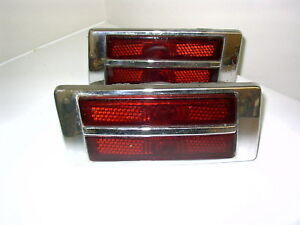 1949 Packard Chrome Taillights Packard Tail Lights Cool Custom Fd19 9 18