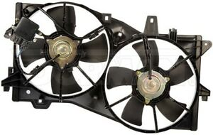 New Engine Radiator Dual Cooling Fan Assembly With Controller Dorman 620 479