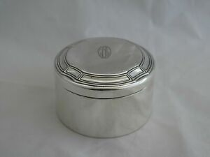 Tiffany Sterling Silver Art Deco Covered Box