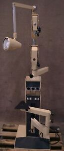 Reliance 7700 Ic Ophthalmic Stand W Third Arm Charging Wells Ophthalmology