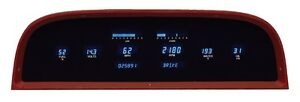 Dakota Digital Dash 1960 63 Chevy Pickup Truck Gauge System Cluster Vfd3 60c pu