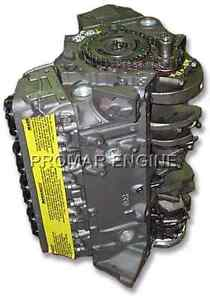 Reman 67 96 Gm 5 7 Chevy 350 2 Bolt Long Block Engine