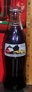 1993 COCA - COLA COLLECTORS CLUB CONVENTION DEARBORN MI 8OZ COCA COLA BOTTLE
