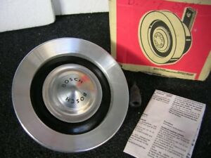 Working Bosch Horn Vintage Car 12v Porsche 911 Bmw 2002 Mercedes Mb Nos