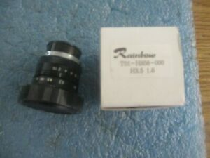 Rainbow Model T01 h858 000 Ccd Camera Lens H3 5 1 6 New Old Stock