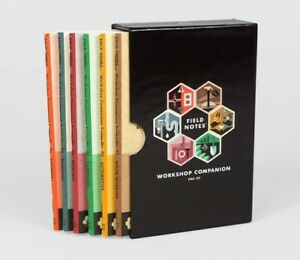 Field Notes workshop Companion Sealed 6 pack Memo Notebooks Limited Edition