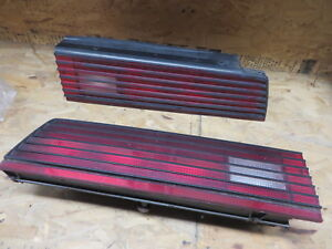 Pontiac Firebird 82 83 84 85 Tail Light Set Right Left Rh Lh Oem