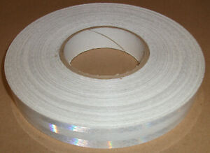 3m 3930 White High Intensity Prismatic Grade Reflective Tape 1 X 150 50 Yards