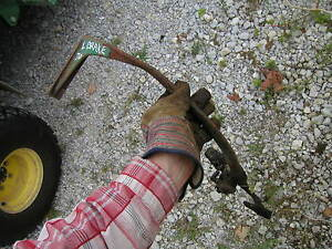 Oliver 70 Rowcrop Tractor Left Brake Pedal With Mounting Bracket