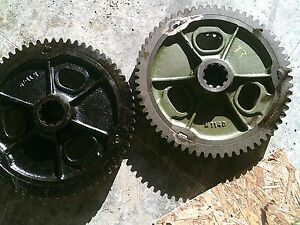 Oliver 77 Tractor Rearend Main Bowl Bull Drive Gear Gears