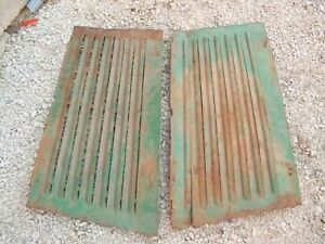 Oliver 77 Tractor Factory Original Front Engine Side Cover Curtain Panel Panels