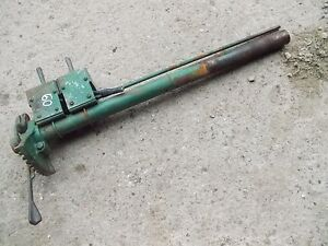 Oliver 60 Tractor Steering Shaft Holder Throttle Lever Fan Hydra Control
