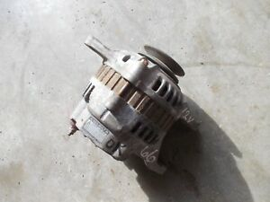 Oliver 66 Tractor Good Working 12v Alternator W Belt Pulley