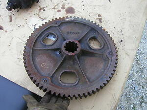 Oliver 70 Rowcrop Tractor Transmission Main Final Drive Bowl Gear