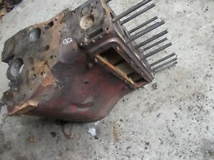 Farmall Ih 450 400 Tractor C281 Good Gas Engine Motor Block W Head Bolts