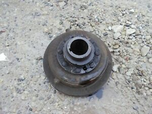Oliver 77 Tractor Gas Engine Motor Main Front Crankshaft Belt Drive Pulley