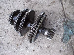 Farmall B Tractor Original Ih Lower Set Transmission Drive Gear Gears Shaft