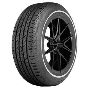 4 225 60r16 Continental Pro Contact Eco 98t White Wall Tires