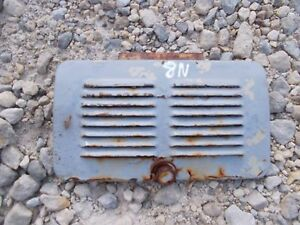 Ford 8n Tractor Hood Vent Side Cover Door