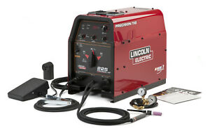 Lincoln Precision Tig 225 Welder Ready Pak K2535 1