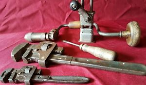 Hand Tools Vintage Tools 5 Pcs Lot