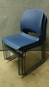 5 Nice Herman Miller Stacking Chairs Home Or Office Stack Chair