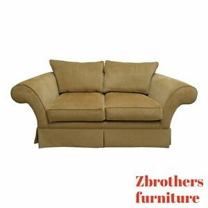 Ethan Allen Living Room Sofa Couch Loveseat Settee Rolled Arm