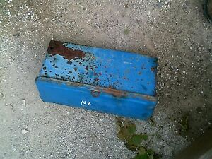 Ford 8n Tractor Tool Box W Lid