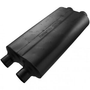 Flowmaster 50 Big Block Muffler 3 00 Dual In 2 50 Dual Out Mild Sound