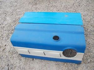 Ford 4000 Tractor Working Engine Motor Dent Free Hood Cover Panel